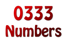 what is 0333 phone number